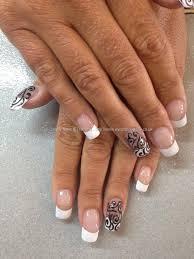 eye candy Nails & Training - Nails Gallery: White French polish ...