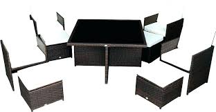 rattan furniture covers. Outsunny Outdoor Furniture Patio Cushions  Piece Dining Set W Stowaway . Rattan Covers S
