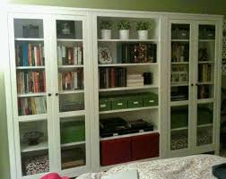 bookshelves with glass doors you for bookcase prepare 15