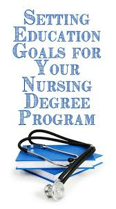 best nursing degree ideas rn schools near me  setting education goals for your nursing degree program