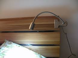wonderful 2016 metal made clip on led table light desk lamp headboard bedroom headboard lighting