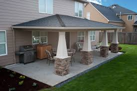 stunning outdoor covered patio covered patio lighting outdoor raised ranch house remodel plans residence decor images