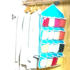 hanging shoe bag portable closet storage organizer