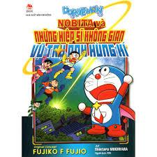 Sách - Doraemon: Nobita Và Những Hiệp Sĩ Không Gian - Vũ Trụ Anh Hùng Kí