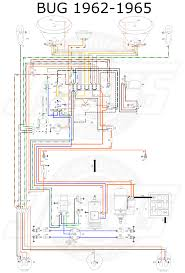 vw bug horn wiring diagram wiring diagram schematics vw tech article 1962 65 wiring diagram