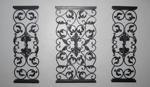 small wrought iron stunning iron wall