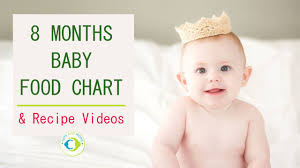 Baby Food Chart After 8 Months 8 Months Indian Baby Food Chart With Recipe Videos Tots