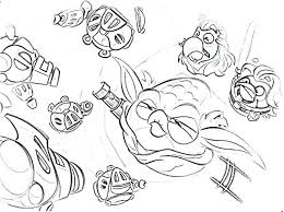 600x447 star wars angry bird coloring pages angry bird pigs star wars
