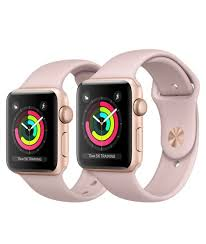 apple 3 watch. apple watch series 3: 38mm model (left) compared to 42mm (right) 3 n