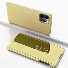 Spiegel Hülle für iPhone 12 Pro Max Gold