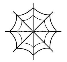 web drawing spider web drawing royalty free stock image storyblocks