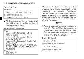 Engine Oil Drain Plug Torque Chart 2018 Diy Motorcycle Oil Change 2017 Kawasaki Ninja 650 Z650