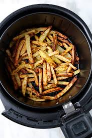 the best air fryer french fries a healthy air fryer fries recipe vegan
