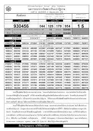 ตรวจหวย ตรวจผลสลากกินแบ่งรัฐบาล 16 มิถุนายน 2552 ใบตรวจหวย 16/6/52