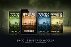 box set template mockup 3 book psd see more 5 x 8 dystopian ebook series mockup
