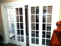 cost to replace sliding door with french doors glass how shower rollers