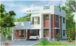 Small Picture Simple Small Flat Roof Home Kerala Design Floor Plans House