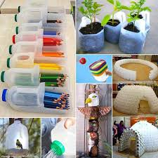 Decoration With Plastic Bottles 60 DIY Decorating Ideas With Recycled Plastic Bottles 22