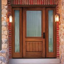front doors with side lightsWood Front Doors With Sidelights  Door For Decoration