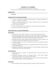 Graduate Research Assistant Resume Sample. Psychology Research ...