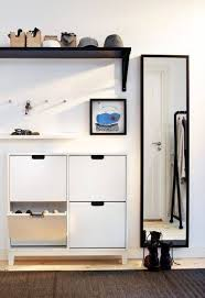 narrow entryway shoe storage. Unique Storage Ikeau0027s Clever Shoe Storage Cabinet Is Perfect For The Entryway In Narrow Entryway Shoe Storage R