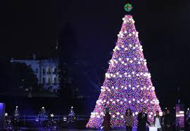 Cbs Christmas Tree Lighting National Christmas Tree Lighting Ceremony To Cause D C