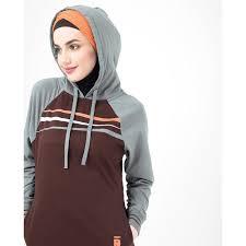 Buy IDH Hooded Sister Jilbab for <b>Women</b> 1WJBSRRZ0304 Brown ...