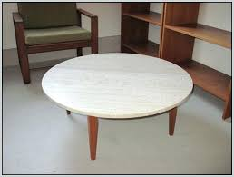 mid century modern marble coffee table pop up walnut