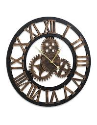wall clock extra large vintage silent