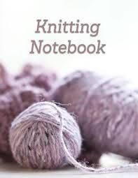 Knitting Book Knitting Graph Paper Notebook Yarn Ball Journal 4 5