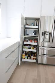 Kitchen Countertop Storage 17 Best Ideas About Microwave Storage On Pinterest Hidden
