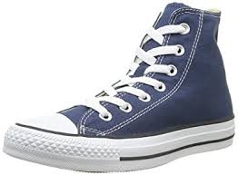 converse shoes high tops for girls. converse kids unisex chuck taylor all star core hi (infant/toddler) navy sneaker shoes high tops for girls