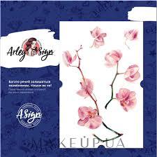 Makeup флеш тату переводные орхидея 110x165 мм Arley Sign