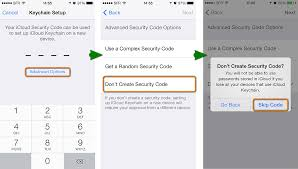 Icloud Security Code How To Setup And Use Icloud Keychain On Iphone Or Other Ios