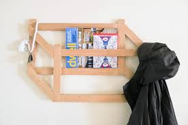 Make A Coat Rack Make it Modern DIY 100D Trompe l'oeil Coat Rack Design Milk 76