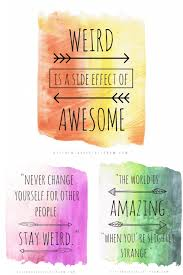 Quotes About Being Different Inspiration Quotes About Being Different Living Your Most Unique Life