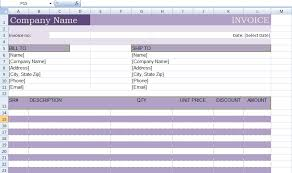 excel bill microsoft excel billing invoice template xls project