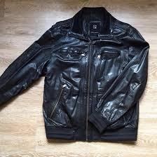 <b>Кожаная куртка Pierre Cardin</b> – купить в Москве, цена 8 000 руб ...