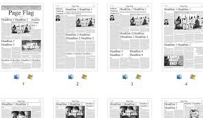 Newspaper Front Page Template Indesign 6 Free Indesign Newspaper Templates Af Templates