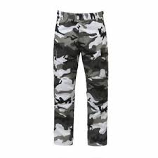 Details About Bdu Pants Camouflage Military Cargo Polly Cotton Fatigue Rothco 7881 City