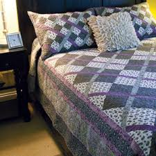 King Size Quilt Patterns Inspiration Argyle Easy PlaidEffect King Size Quilt Pattern The Quilting Company