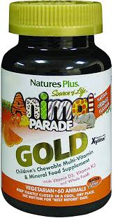 Nature's Plus <b>Animal</b> Parade <b>Source of Life</b> Gold Children's ...