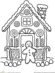 Small Picture Gingerbread man Free Printable Coloring Pages xmas Pinterest