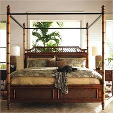 Bamboo Queen Canopy Bed Black Daybed Fascinating Beds And Daybeds My ...