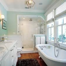 bathtubs idea kohler corner tub corner bathtub shower airy mint green bathroom with large walk