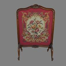 antique fireplace screen antique french tapestry screen antique from mrbeasleys on ruby lane