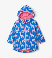Hatley Raincoat Size Chart Adorable Alpacas Microfiber Rain Jacket