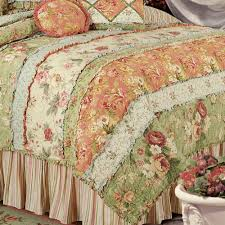 Garden Dream All Cotton Quilt Bedding & Garden Dream All Cotton Quilt Cream Adamdwight.com