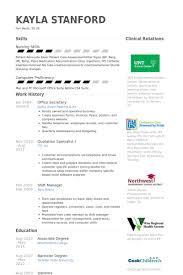 office secretary resume samples visualcv resume samples database examples of secretary resumes