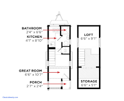 tiny house floor plans inspirational tiny house floor plan small with loft plans pdf